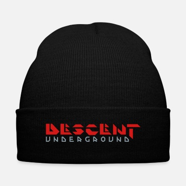 Video Descent Underground Two-Color Logo - Knit Cap with Cuff Print