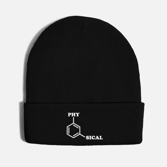 Studies Caps - Metaphysical Humor - Knit Cap black