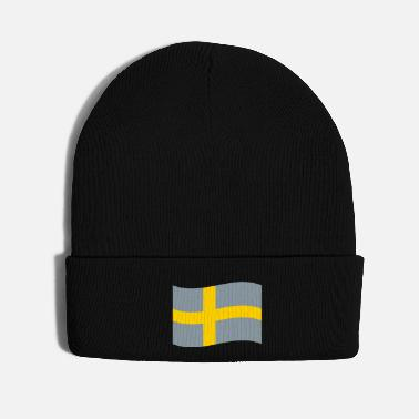 Sweden Sweden vector flag - Knit Cap