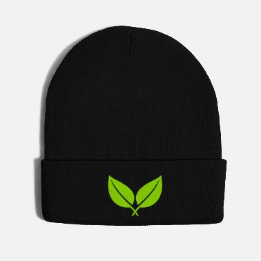 Eco leaf - Knit Cap