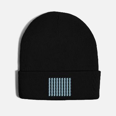 Pattern Wave Pattern - Knit Cap