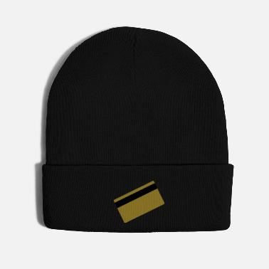 Credit gold card - Knit Cap