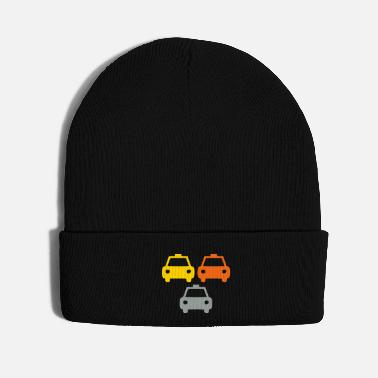 Law Enforcement Small Police Cars - Knit Cap