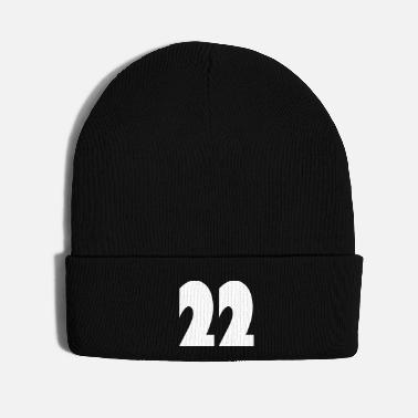 Beautiful ❤️★Number Twenty-Two Best Jersy Number & Best Age - Knit Cap