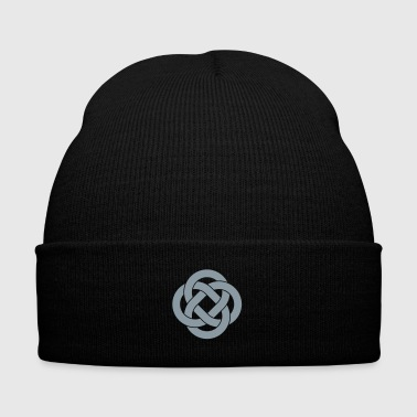 Celtic Symbol Celtic - Knit Cap with Cuff Print