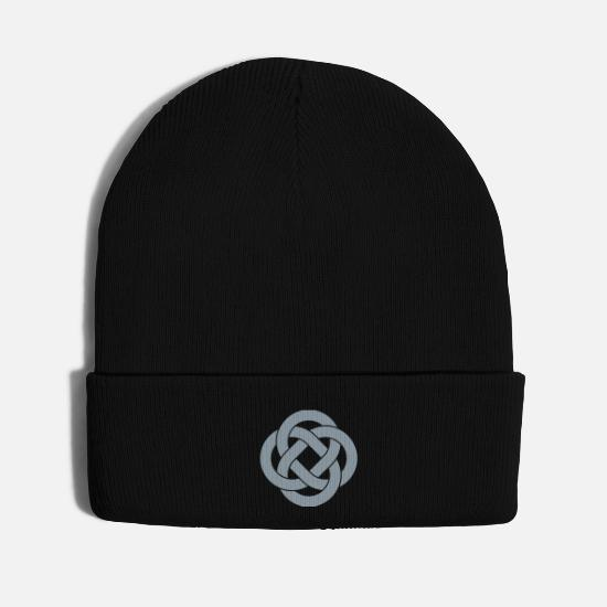Celtic Symbol Caps - Celtic - Knit Cap black