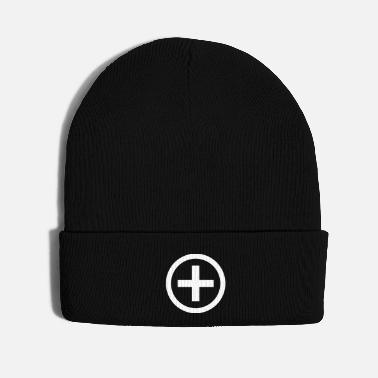 Mathematics Bitwise Mathematics XOR Operation 1 Color Logo - Knit Cap