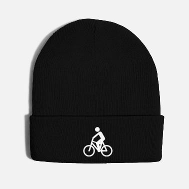 Cyclist Cyclist Silhouette - Knit Cap