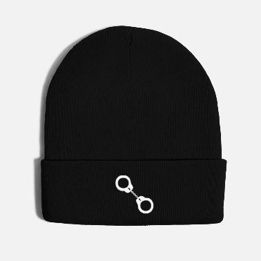 Law Enforcement Handcuffs - Knit Cap