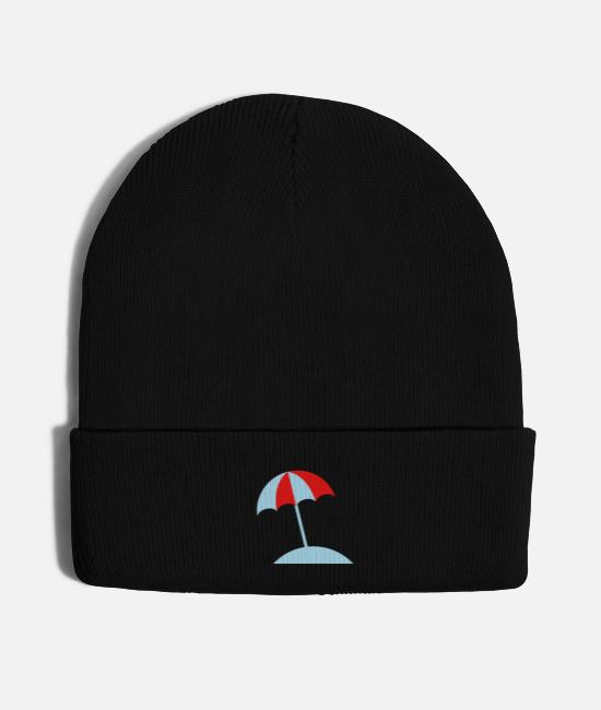 Beach Caps & Hats - Beach - Knit Cap black