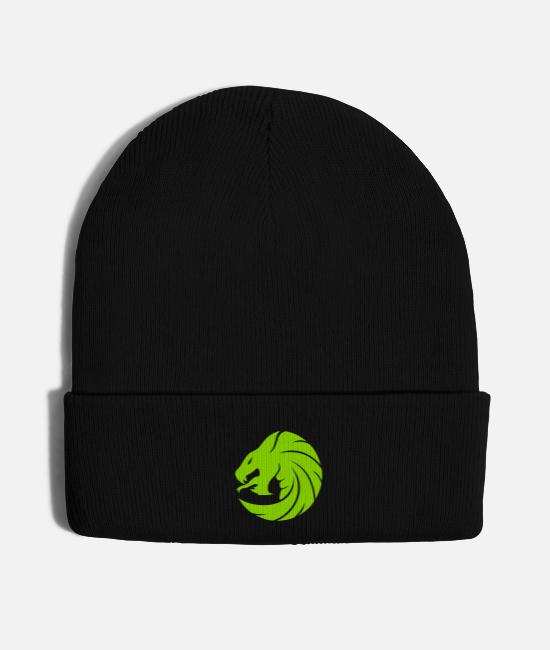 LARP Caps & Hats - DragonSnake - Knit Cap black