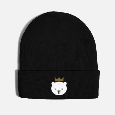 Golden Crown Berlin Bear - Knit Cap