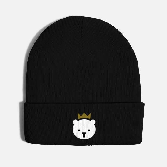 Mascot Caps - Berlin Bear - Knit Cap black