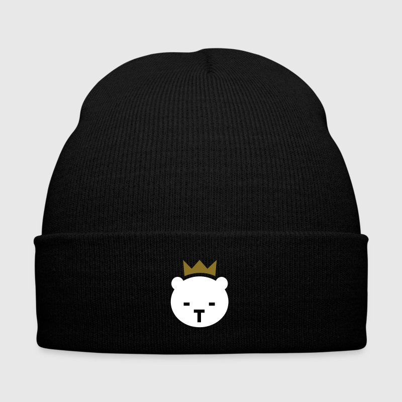 Berlin Bear - Knit Cap with Cuff Print
