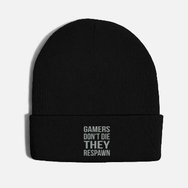 Joystick Gamers Don't Die Respawn - Knit Cap