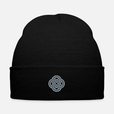 Celtic Knot Celtic knot - Knit Cap with Cuff Print