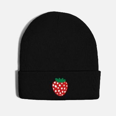 Fruit Strawberry Fruit - Knit Cap