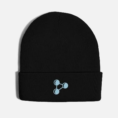 Periodic Table atom biology chemistry physics elements - Knit Cap