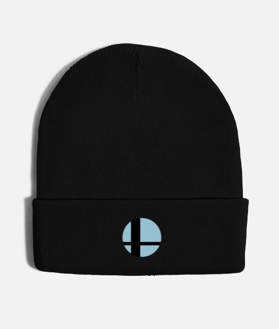 3ds Caps & Hats - Sun in Window, 2 Color, No Border - Knit Cap black