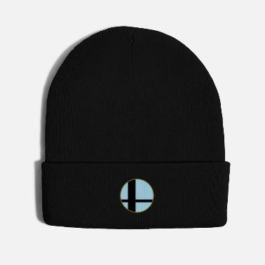Nintendo Sun in Window, 3 Color, with Border - Knit Cap