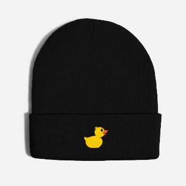 Bathroom rubber duck toy - Knit Cap