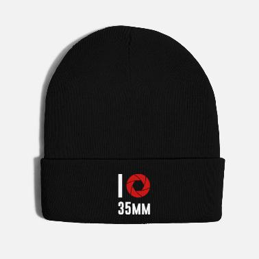 Hobby I love 35mm Camera Hobby Film Photography - Knit Cap