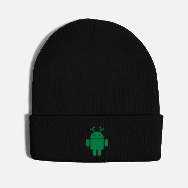 Merry merry christmas android santa rudolf google - Knit Cap