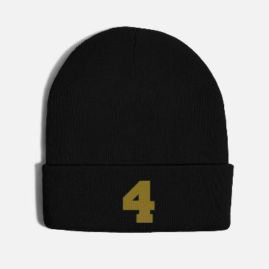 Number 4 - Number - Knit Cap
