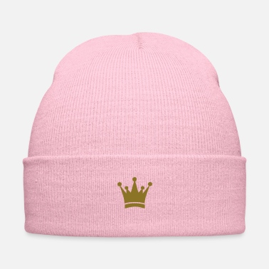 Gold gold crown - Knit Cap
