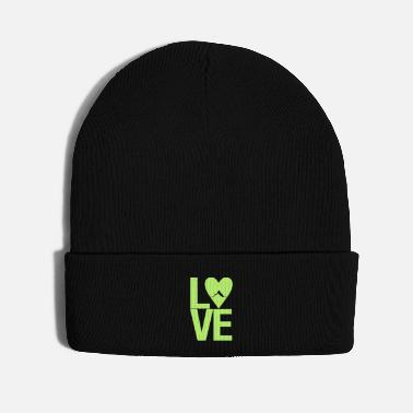 Outdoor Mountain love - outdoor hiking design - Knit Cap