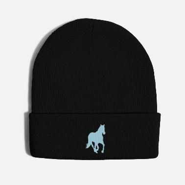 Western Riding wild horse - Knit Cap