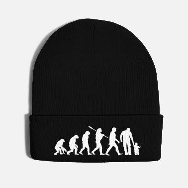 Daughter Father Evolution Son Daughter Kid Child Gift Idea - Knit Cap