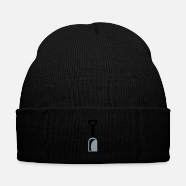 Career shovel tool - Knit Cap with Cuff Print