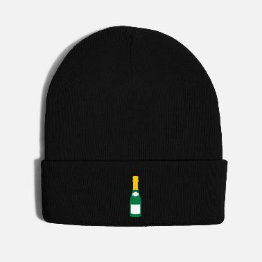 Passed champagne bottle - Knit Cap
