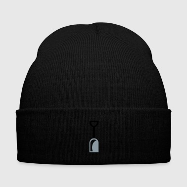 shovel tool - Knit Cap with Cuff Print