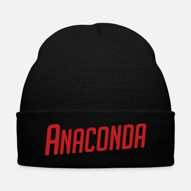 Video Anaconda - Knit Cap with Cuff Print