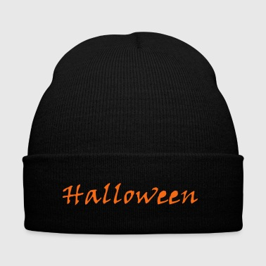Simply Halloween - Knit Cap with Cuff Print