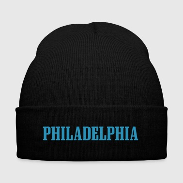 Philadelphia vector - Knit Cap with Cuff Print