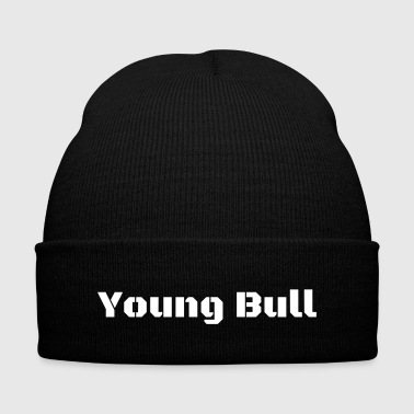 Young Bull - Knit Cap with Cuff Print