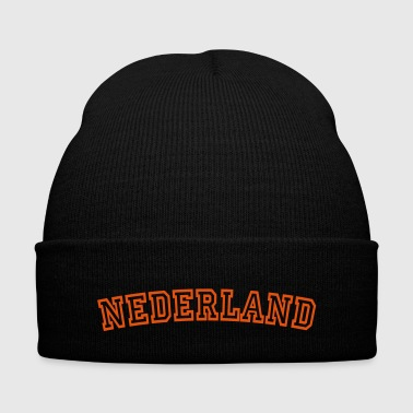 nederland / holland / oranje - Knit Cap with Cuff Print