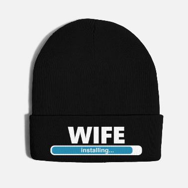 Bachelorette Party Installing Wife (1065V) - Knit Cap