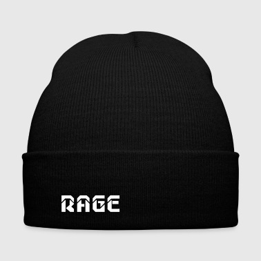 RAGE logo 2017 - Knit Cap with Cuff Print