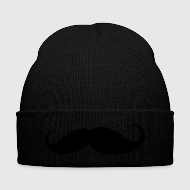 Moustache - Like a sir - Beard - Knit Cap with Cuff Print