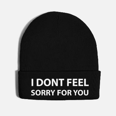 Feeling I dont feel - Knit Cap