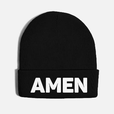Prayer Amen - Knit Cap