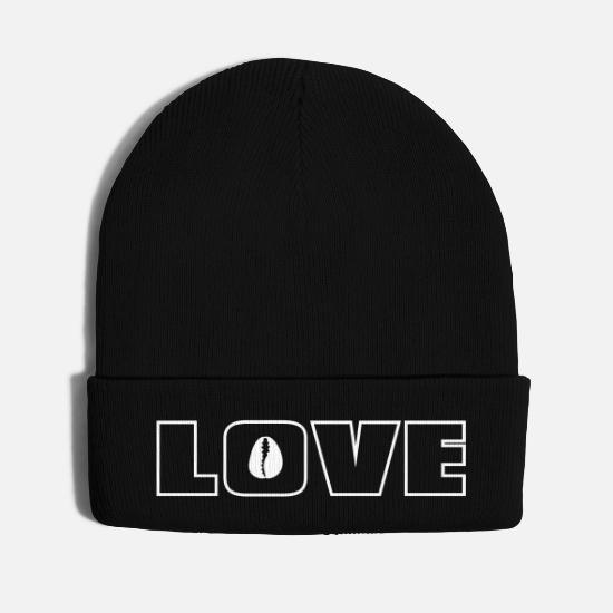 Love Caps - Love - Knit Cap black