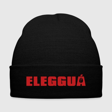 Rowdy Eleggua single color - Knit Cap with Cuff Print