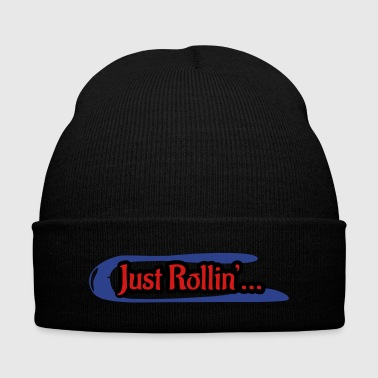 Speedwheel rolling little - Knit Cap with Cuff Print