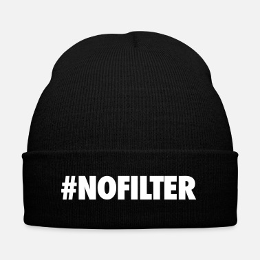 Tag #NOFILTER - Knit Cap with Cuff Print