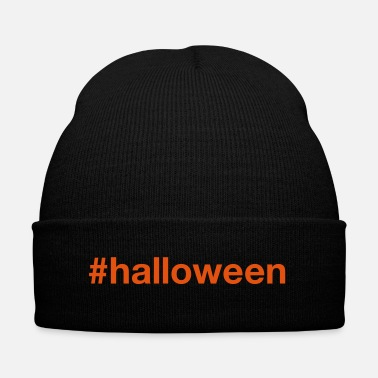 Halloween HALLOWEEN - Knit Cap with Cuff Print